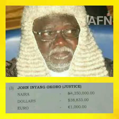 Photo of Read full letter of Justice Okoro accusing Amaechi of trying to bribe him
