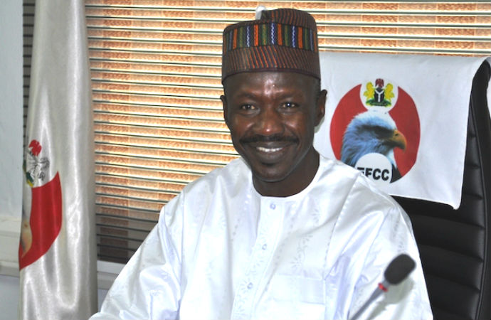 EFCC Asks Court To Reassign Ibrahim Magu's Confirmation Suit To Another Judge