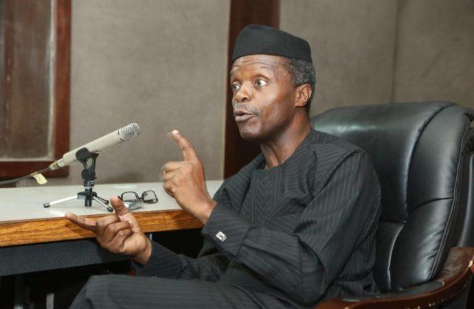 Photo of Magu Didn't Give Me ₦4 Billion' – VP Yemi Osinbajo