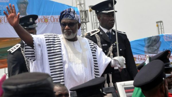 Photo of On First Day In Office, Akeredolu Meets Workers Over Unpaid Salaries