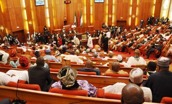 Photo of Senate charges security agencies to retrieve stolen mace