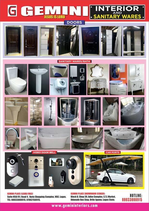 Photo of Gemini Interior and Sanitary Wares, Lagos, Nigeria