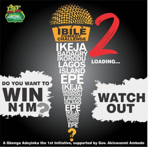 Photo of Win 1 Million Naira From The #IBILECOMEDYCHALLENGE
