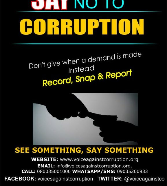 Photo of Say No To Corruption