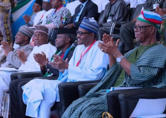 Photo of President Buhari's Desperation To Seize Presidential Ticket Confirmed At The Convention