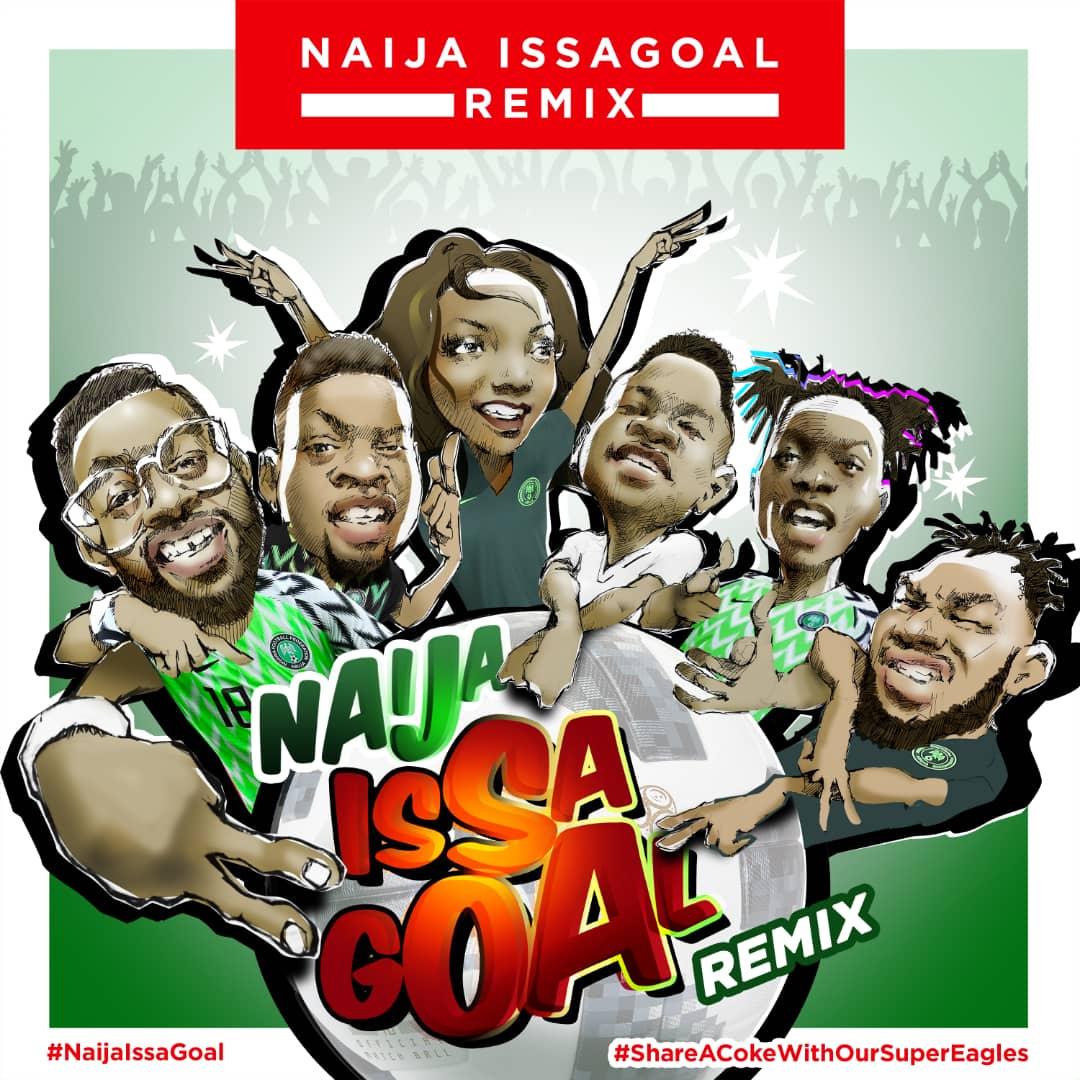 Photo of Coca-Cola Ft. Naira Marley, Slimcase, Falz, Simi, Lil Kesh, Olamide – Issa Goal (Remix)