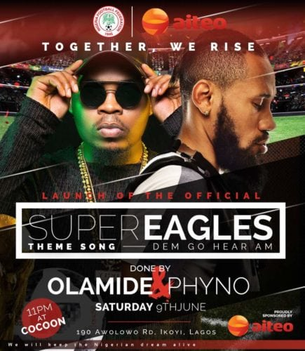 Photo of Olamide x Phyno – Road To Russia 2018 Dem Go Hear Am