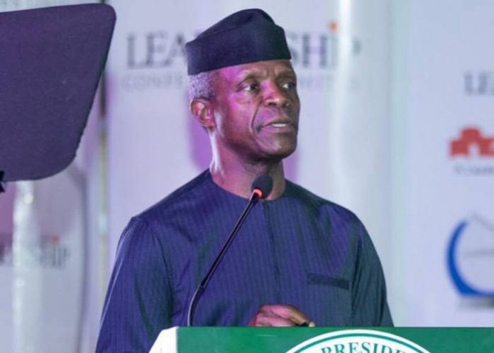 Photo of Yemi Osinbajo, 13 Governors For NGE Conference In Asaba