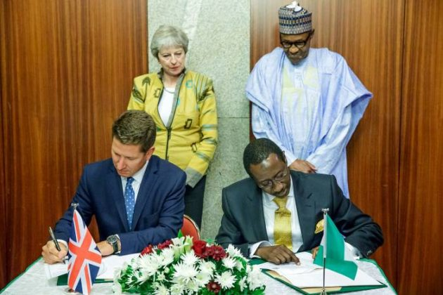 Nigeria, Britain Sign Agreement On Economic Development, Security