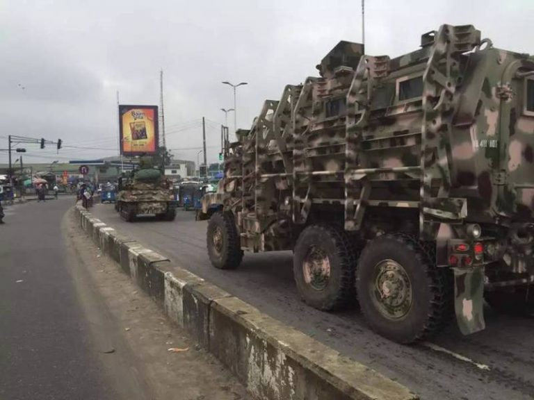 Police, Army, Others In Show Of Force Over IPOB Stay-At-Home