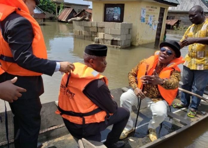 Flood: Yemi Osinbajo Orders NEMA To Supply More Relief Materials To Displaced People