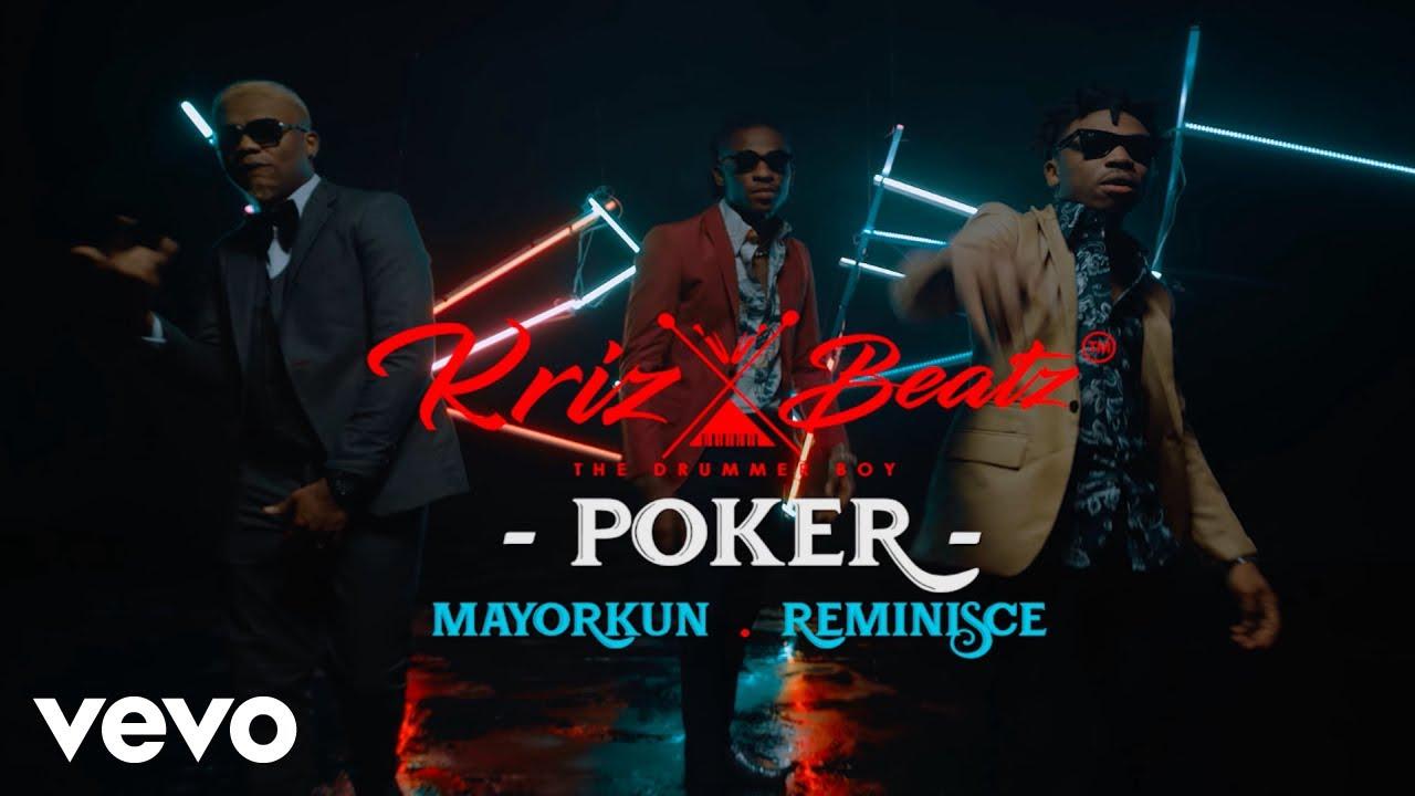 Photo of VIDEO: KrizBeatz ft. Mayorkun & Reminisce – Poker