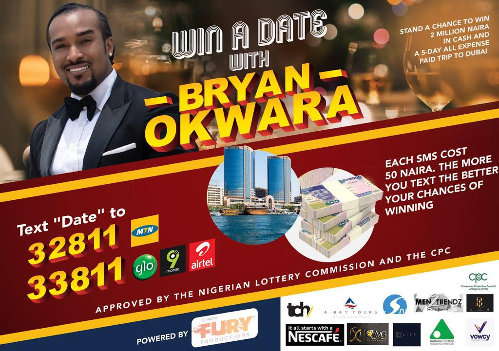 Photo of Win A Date With Bryan #WinADateWithBryan