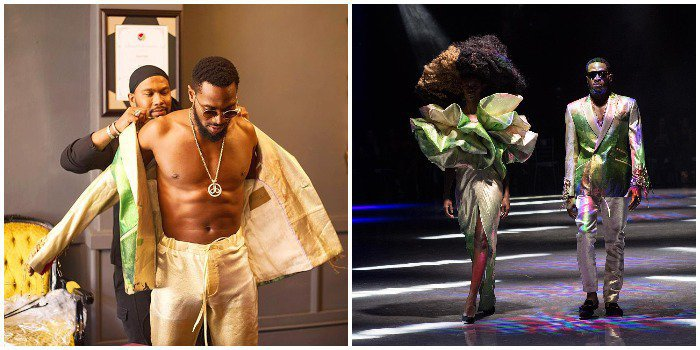 Photo of D'banj Walks The Runway In South Africa's Tlale Designs
