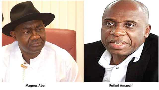 Photo of What Amaechi did to me in presence of my wife – Senator Abe