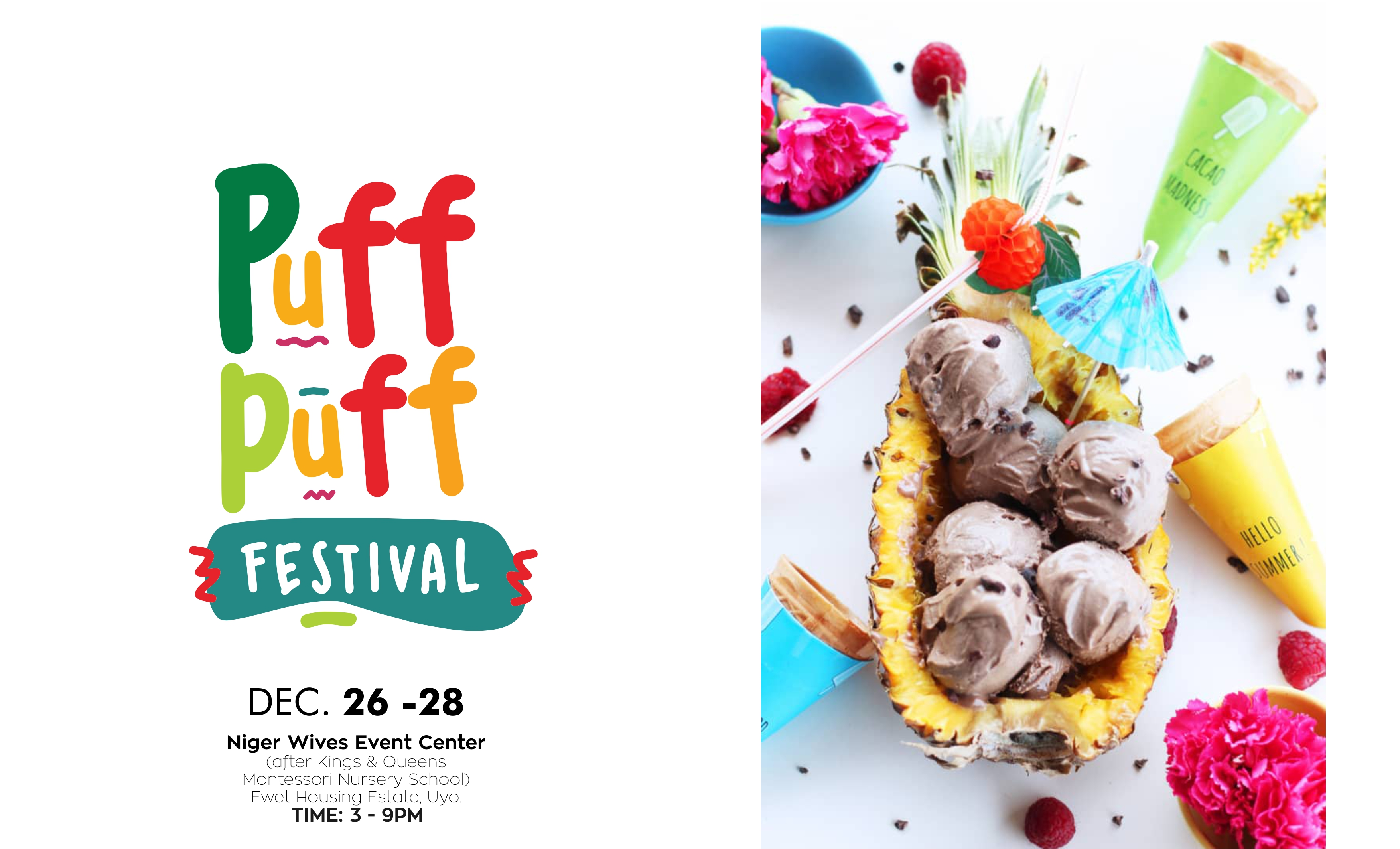 "Photo of Puff Puff Festival Returns This December With The Theme ""Christmas Party"""