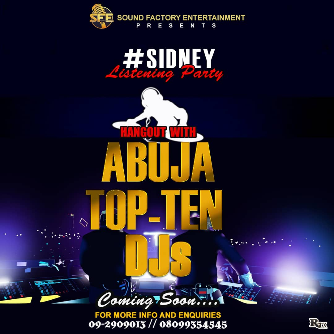 Photo of Abuja: All is Set For Sidney 'Eurythmic EP' Listening Party | DETAILS