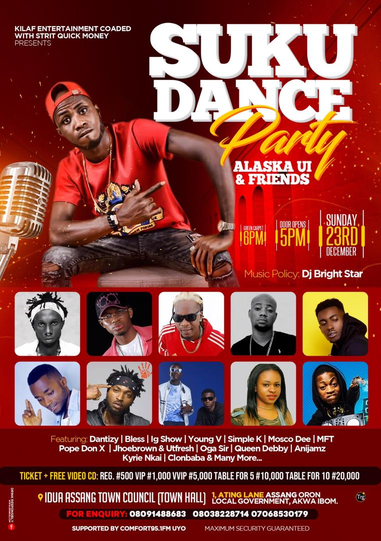 Photo of Alaska UI & Friends Are Set To Shut Down Oron With The Suku Dance Party