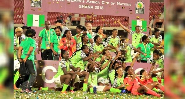 Photo of AWCON: Muhammadu Buhari Congratulates Super Falcons