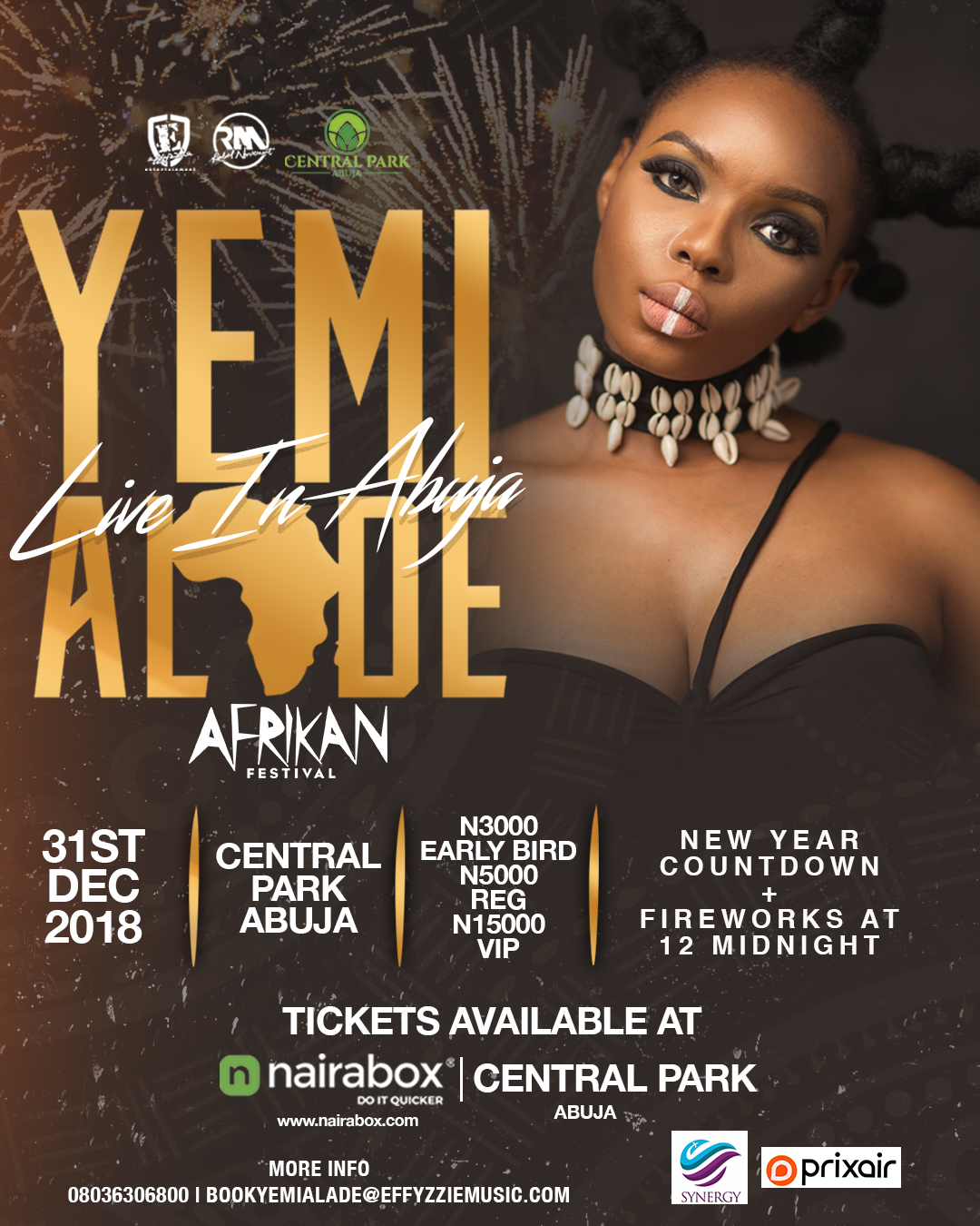 "Photo of Yemi Alade – To Rock Abuja on the 31st of December with ""Afrikan Fest"" Concert & Fireworks"