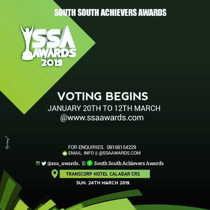 Photo of SOUTH SOUTH ACHIEVER AWARD 2019 NOMINEES LIST