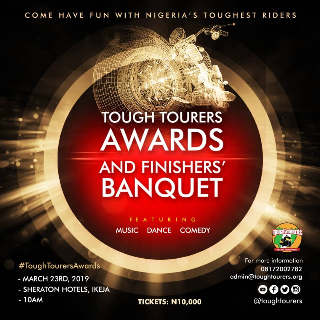 Photo of Tough Tourers Awards And Finishers' Banquet – A Celebration Of Nigeria's Toughest Riders!