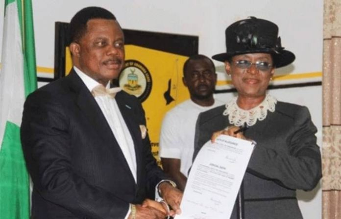 Anambra First female chief judge takes oath of office