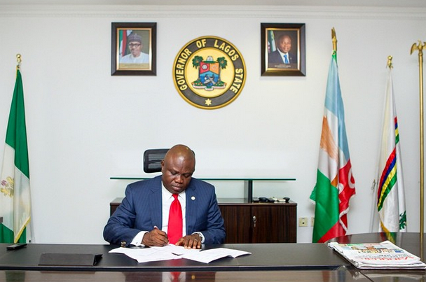 Ambode issues order to commissioners, aides ahead of May 29