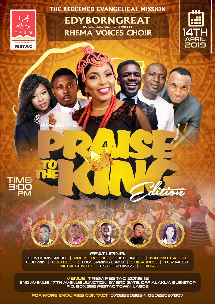 Photo of EVENT: EDYBORNGREAT Presents Praise To The KING Concert