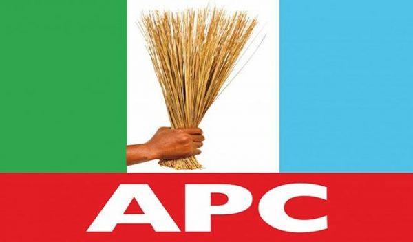Photo of Ogun APC secretariat attacked