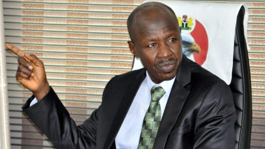 Magu speaks on EFCC 'witch-hunting' Saraki, gives reasons for Senate President's probe