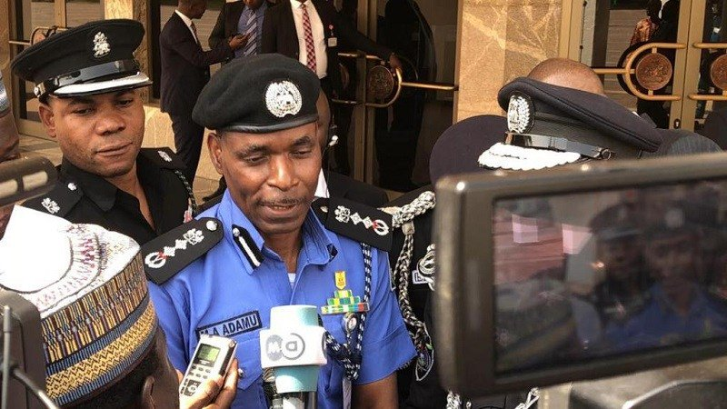 Photo of Policemen Didn't Shoot At Protesters — IGP
