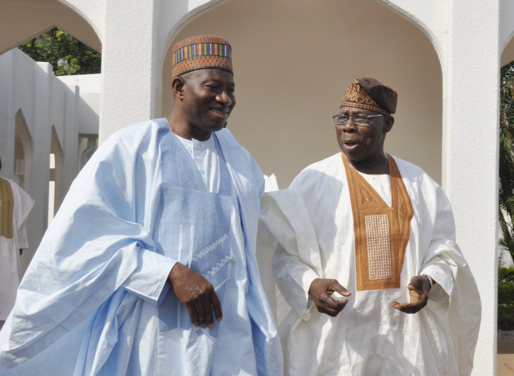 Obasanjo, Jonathan shun Buhari's second term swearing-in