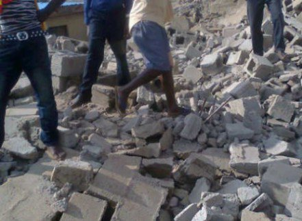 Photo of Just In: Three-storey building collapses in Lagos