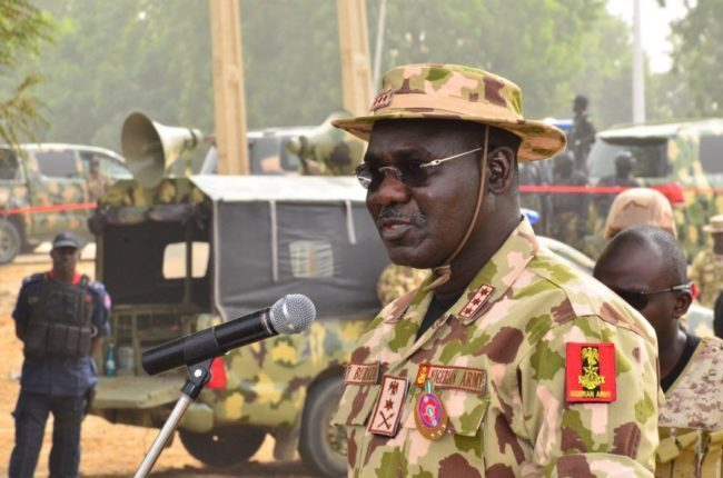 Insecurity: Our locally produced tactical vehicles will help Nigeria – Army