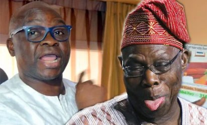 Photo of Honouring MKO Abiola by @MBuhari is to Obasanjo's shame – Fayose