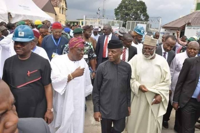 Governor Wike Hails VP Osinbajo For Commissioning Dockyard Liquid Waste In Rivers State