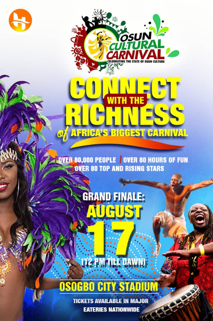 Photo of OSUN CULTURAL CARNIVAL: The State of Osun to Host the World in August