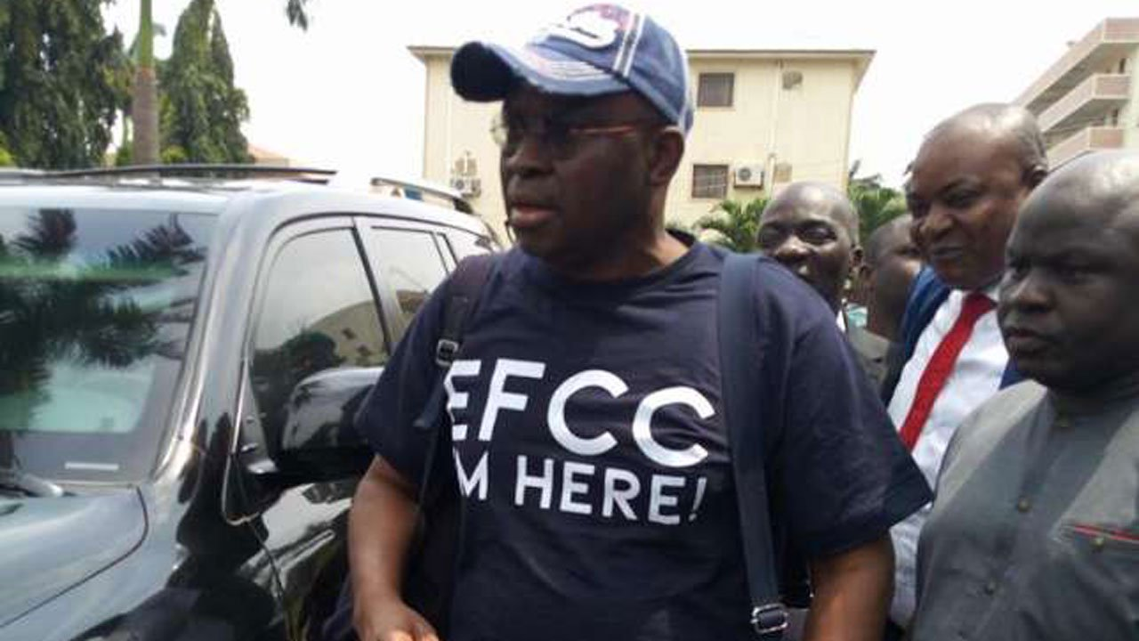 Photo of EFCC re-arraigns Fayose before new judge