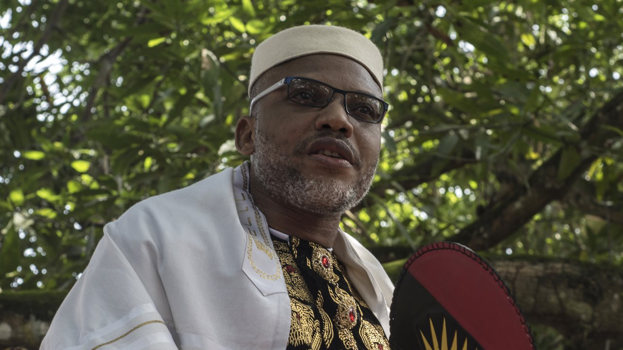 Photo of Nnamdi Kanu reacts as Northern groups tell herdsmen to relocate from South