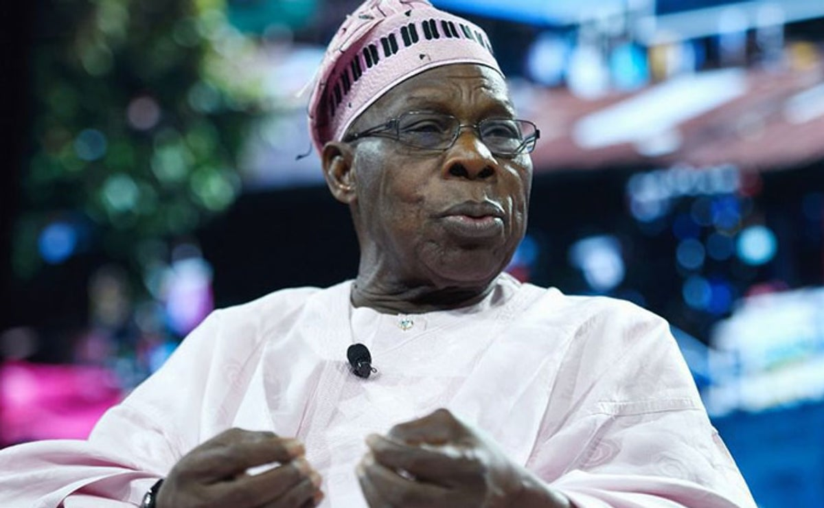 Photo of Obasanjo reveals why Nigeria has not broken up