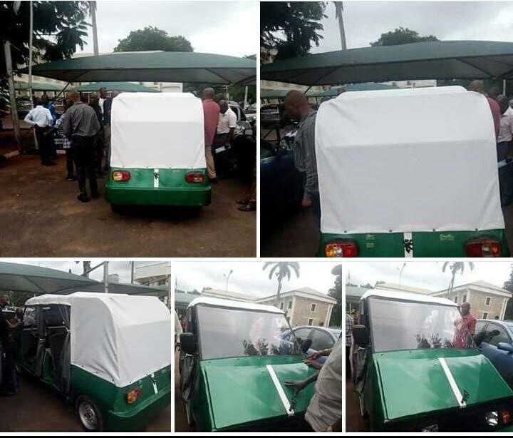 Photo of PHOTOS: UNN Makes Nigeria's Tesla Electric Car