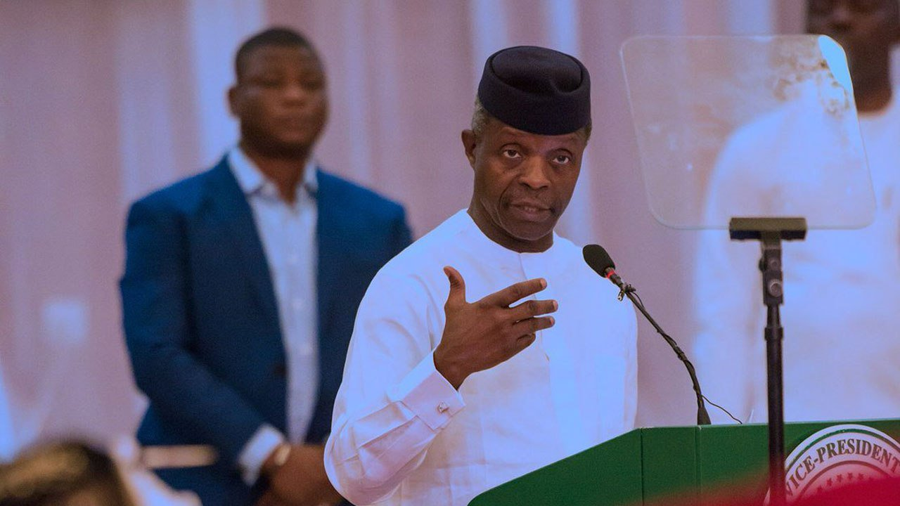 Buhari govt has invested N900bn on power since assumption of office – Osinbajo