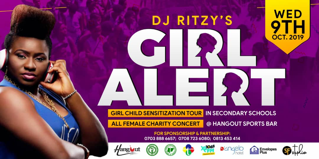 Photo of DJ Ritzy To Embark On #GirlAlert Project