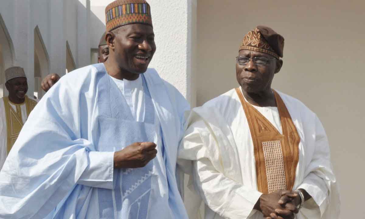 Obasanjo, Jonathan, others meet in Benin