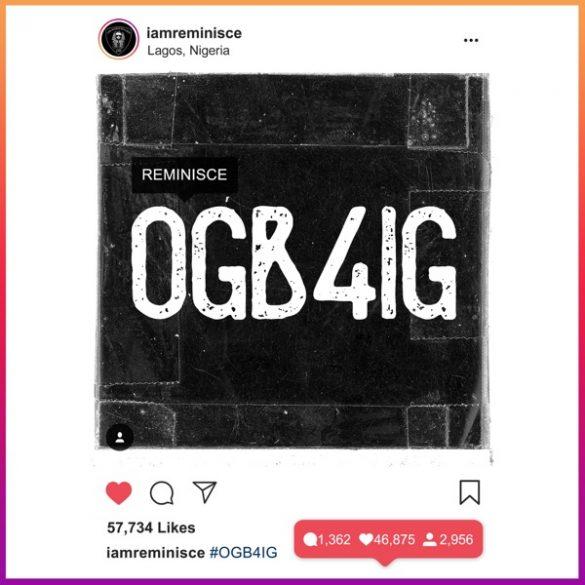 Photo of Reminisce – Ogb4ig (Prod. Sarz)
