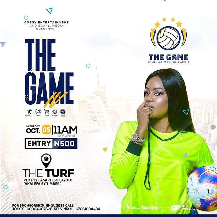 "Photo of Calabar To Experience The 4th Edition Of The All Ladies Fun Soccer Tagged ""The Game"" This Weekend."