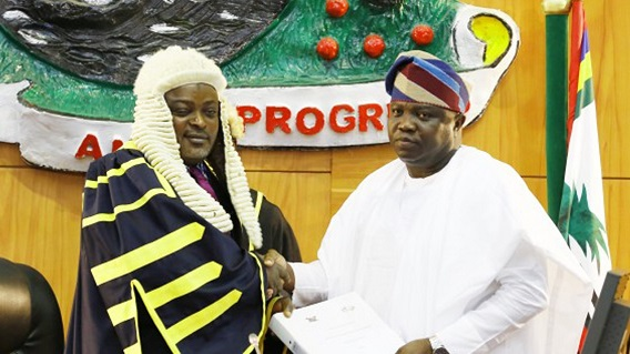 Ambode slams Lagos Assembly with lawsuit