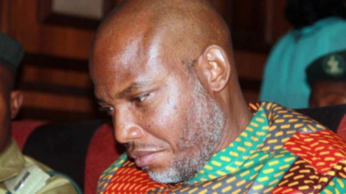 Photo of IPOB leader, Nnamdi Kanu loses mum