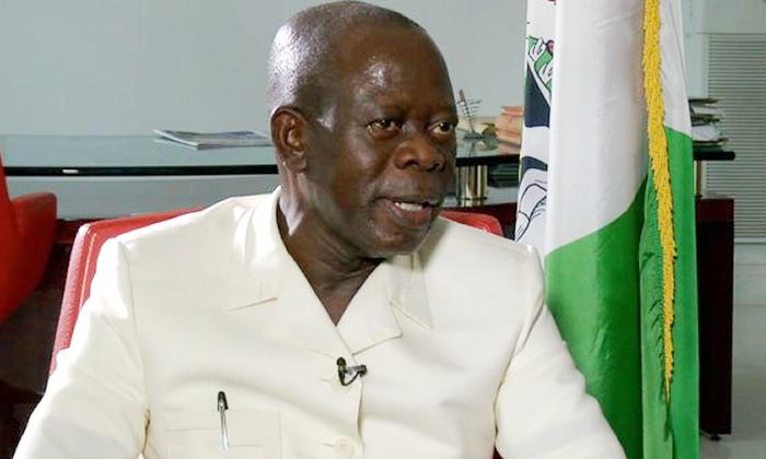 Oshiomhole arrives Benin, speaks on IGP's ban